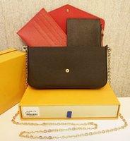LVLOUISBAGVITTONLV 2CdB With Designers Bags 2021 Handbags Pcs set Favorite Box Pochette Accessories Women Crossbody Purse Mes Grco