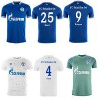 الأحدث 20 21 FC Schalke 04 كرة القدم جيرسي Bentaleb 2019 2020 Schalke Caligiuri كرة القدم قميص Kutucu Burgstaller McKennie Footkerl-Trikot