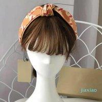 2021 Bandeau pour femmes Mode Lettres Pattem Cheveux Bands Soie Satin Satin Cheveux noués Hoop Femmes Retro Turban Headwraps Girls Meilleurs cadeaux