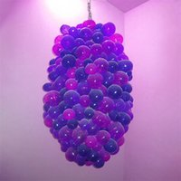 Factory Outlet Modern Lamps Exquisite Italian Style Hand Blown Glass Chandeliers for House Bedroom Living Room Art Decoration Furniture