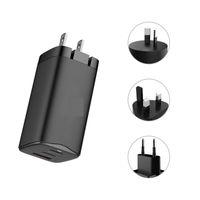 phone 65w gan charger Type C Port Plug For laptop macbook iphone Samsung Huawei Xiaomi