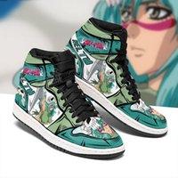 2021 İlkbahar ve Sonbahar Yeni erkek kadın Özelleştirilmiş Anime Ayakkabı Nefes Casual Basketbol Sneakers