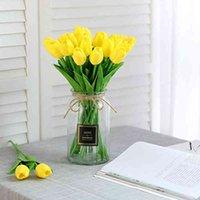 20 sztuk Tulipan Prawdziwy Lateks DIY Bukiet Ślubny Bridal Dom Sztuczny Kwiat Generic Dekoracja Przedmiot