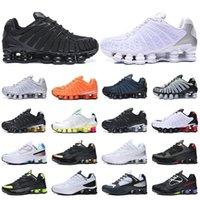 Shox TL chaussures de course blanc Triple Noir Noir Gris Clay orange Sunrise Vitesse rouge formateurs taille baskets sport 40-46