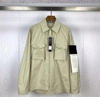 2021 мужские честные куртки CP TopStone Holdie Thint разрез куртка пружина и осенью серии Ghost Pocket Pullover
