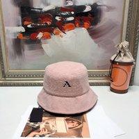 2021 luxurys designers bucket hat high quality mens and womens winter lamb wool warm summer sunshade fisherman cap fashion leisure 5 colors optional good