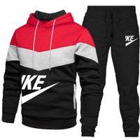 2021 Mode Sportkläder Designer Mens Tracksuits Sport Jorda Sweatshirt Sitt Muscle Brothers Utomhuslöpande Kvinna Kläder Vinter Hoodie Fotboll Kit 21 22