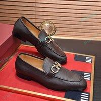 Toppkvalitetsklänning skor mode män svart äkta läder spetsiga tå mens affärer oxfords gentlemen resor promenad casual tröst