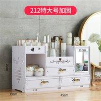 Desktop Kosmetik Aufbewahrungsbox Home Schublade Spiegel Kommode Container Boxen Make-up Hautpflege Schmuck Lippenstift Regal Organizer Fall 393 R2