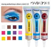 12 Colors Neon Eyeshadow Cream Matte Mineral Pigment Eye Shadow Creams Easy To Apply Waterproof Eyeshadows Makeup