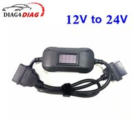 Est Heavy Duty Truck Converter 12V To 24V Adapter Cable Car OBD2 Scanner Working For Easydiag2.0 3.0 GOLO X431 Diagnostic Tools