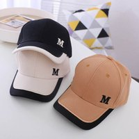 Children Caps Kids Hats Boys Girls Baseball Hat Summer Sun Fashion Embroidered Letter Peaked cap Baby Accessories B7512
