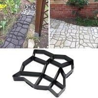 Fabricante de trayectoria de bricolaje moldes de hormigón molde de cemento cemento de cemento de cemento caminar pavimentación pavimentación reutilizable molde de ladrillo jardín decoración 1838 v2