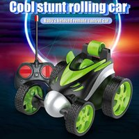 Stunt RC High-Speed Reverse 360 Rotating Remote Control Dancing Driving Toy Plaything Cars for Kids Christmas Gift