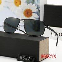 8682 Высококачественные модные дизайнерские марка Солнцезащитные очки для мужчин и женщин Путешествующие покупки UV400 Protection Retro Shades Pilot