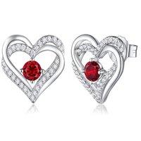 10 estilos 1 par clip-on amor streetded parafuso traseiro brincos jóias