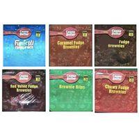 Brownies Mylar Bag 600mg Edibles Gummies Empty Package Dustproof Storage Pouch for Vape Dry Herb Stash Packaging