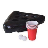 نفخ البيرة بونغ قبعة العائمة بونغ لعبة للسباحة حزب اللوازم شاطئ نفخ لعب للأطفال العملاقة البيرة GWD6612