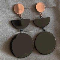 Top Qualität Mode Stil Schmuck Design Stempel Edelstahl Stud Rose Gold Überzogene Ohrringe für Frauen Party Geschenke Großhandel Preis