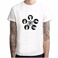 큰 bang 이론 남자 티셔츠 바위 종이 가위 도마뱀 shockon coper tops 짧은 소매 티셔츠 Bazinga 티 탑 yh040soccerjers