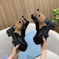 2021 Rois Martin Çizmeler Kadın Ayak Bileği Hakiki Deri Askeri Savaş Modelleri Platformu Çanta Boot Üçlü Dana Motosiklet Ayakkabı