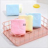 1USD / PC Kinder Handtuchwaschentuch Polieren Trocknungstücher HWB10193
