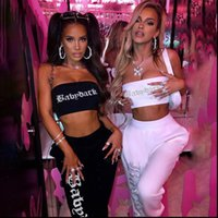 Two Piece Set Sleeveless Womens Tracksuits Milk Silk Tank Top and Sweatpants Sexy Club Outfits for Women Clothes Lounge Wear