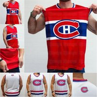 Молодежь 31 CACKY Price Price Montreal Canadian Hockey Tank Red White Настроить любое число и имя личности жилет Джесси