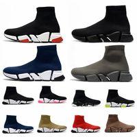 2021 uomini da donna Triple S Donne Shoe Velocità di scarpe 2.0 Tranchiato Sole Sole Trainer Stivaletti Stivali Stivali Stivali Stivali Stivali sportivi Scarpe Casual Scarpe da ginnastica