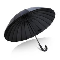 Umbrellas Big Size Double Rain Long Handle Umbrella Women's Parapluie Men Quality 24K Strong Windproof Glassfiber Frame