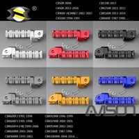 Pedals For CBR500R 13-14 CBR600RR 03-06 MSX125 CB1100 Front Footrests Foot Rests Motorcycle Footpegs Rider Pegs Pedal CNC