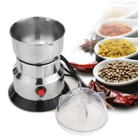 Electric Herbs Spices Nuts Coffee Bean Mill Blade Grinder With Stainless Steel Blades Household Grinding Machine Tool T200323