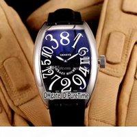 Çılgın Saatler 8880 CH COL DRM Çelik Kılıf Gümüş Arama Renk Numarası Mark Otomatik Erkek İzle Siyah Deri Kayış Saatler Yüksekliği Kalite A80A1