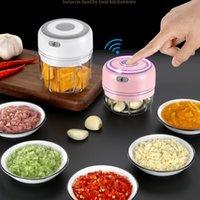 Masher à l'ail électrique 100 / 250ml mini USB sans fil Concassage rapide Sans fil de viande de viande de viande Machine de complément alimentaire 210317