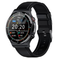 Smart Watch Men 2021 PPG+ECG Heart Rate Blood Pressure Monitoring Sports Bracelet Wireless Charging E88 Smartwatch Android IOS