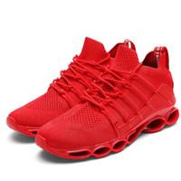 2021 أزياء رجالية أحذية الصيف تصميم جديد اتجاه رجل أحذية عارضة شبكة تنفس ضوء تنفس masculino adulto حجم b32