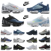 Nike air max plus 3 tn tênis de corrida masculino Topografia Pacote triplo branco preto hiper og clássico neon masculino tênis feminino tênis esportivo Tiger Ghost Parachute Aqua