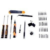 Jakemy JM-8139 45 в 1 точной отвертке набор ремонтных комплектов Инструменты открытия для мобильного телефона Компьютерное электронное обслуживание HHD6473