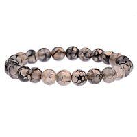 Charme pulseiras multi cor malaquita azul areia Única anel pedra natural buddha bread elástico braceletuzv40s2f