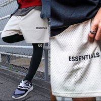 2020 ماركة أزياء السراويل الأساسية شبكة ضغط الشارع الشهير الهيب هوب السراويل كرة السلة الذكور الرياضة اللياقة البدنية الرجال السراويل
