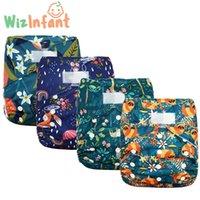 Wizinfant Big XL Pañuelo de bolsillo para bebé 2 años y mayores, paño de gamuza interior, seco de la estadía, tamaño ajustable en la cintura 36-58cm H0830 H0906