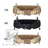 Waist Support Krydex Tactical Modular Laser Cut Inner & Outer Belt Loading Padded Molle Pals For Battle Army Hunti