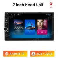 Universal 2 Din Android 10 Quad Core Car DVD Player GPS Wifi BT Radio 2GB 32GB SD 16GB ROM 4G SIM LTE Network 2din No