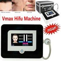 VMAX HIFU Máquina de alta intensidad enfocada en la extracción de la cara de elevación de la cara con 1,5 mm, 3.0 mm, cartuchos de 4,5 mm para uso doméstico y spa