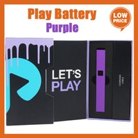 Purple play Battery Exotics DNA Plug Play Pod Box Mod 500mAh for 510 Thick Oil Cartridge pk vision spinner palm battery with usb charge