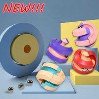 Novo feijão mágico de feijão inteligente Fingertip Fidgety Brinquedos para crianças e adultos Stress Relief Hamburguer Brinquedos Atacado