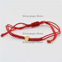 Charm Bracelets Trend Fashion 925 Sterling Silver Love & Red Braided Chain Premium Quality European Spanish Styles Birthday Present Gift