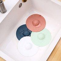 Large Diameter Cute Pig Silicone Floor Drain Cover Sink Plug Sewer Bathroom Toilet Deodorizer Anti-Clogging Kitchen Deodorant Accessory ZXFHP862