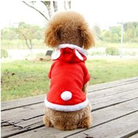 Dog Apparel Pet Clothes Cat Puppy Rubbit Imitation Coat Winter Sweatshirt Warm Sweater Outfit