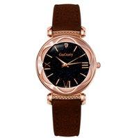 Gogeey Starry Sky кварцевые часы женские часы сияющие алмазные привлекательные женские наручные часы